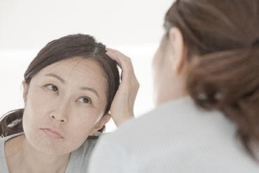 髪の悩みを持つ女性の方へ